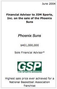 NBA Suns Sell