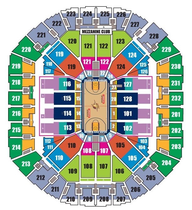 Warriors New Stadium Season Tickets: Golden State Warrior Tickets NBA Seats